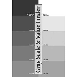 Color Wheel Co. Gray Scale and Value Finder
