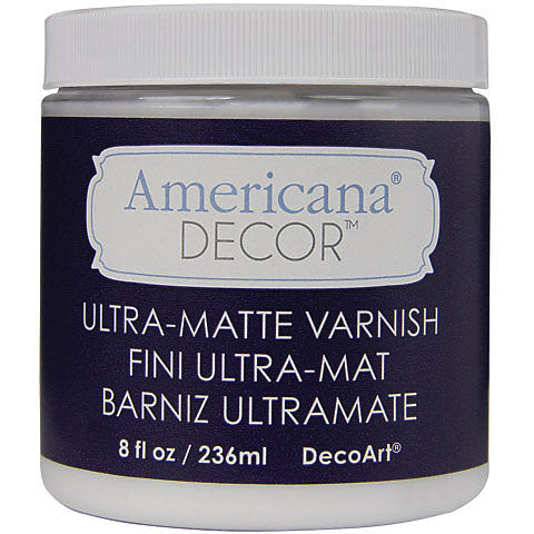 DecoArt Americana Decor Varnish 8oz Ultra-Matte