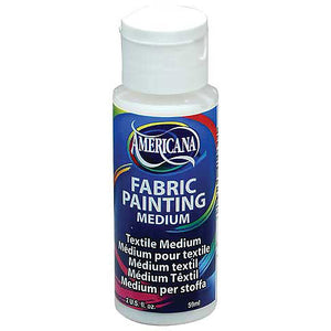 Deco Americana Fabric Painting Medium 2oz