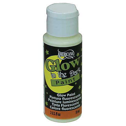 DecoArt Americana Glow in the Dark Paint 2oz