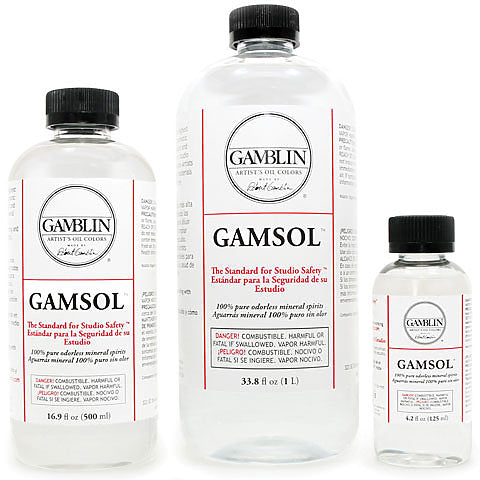 Gamsol Odourless Mineral Spirits 125ml