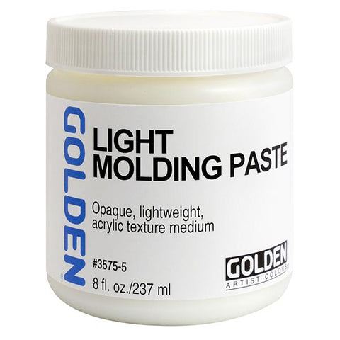 Golden 8oz Light Molding Paste