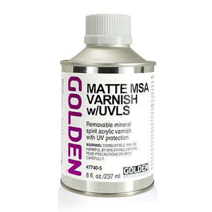 Golden 8oz MSA Varnish Matte