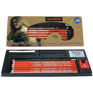 General Pencil Charcoal Kit No.15