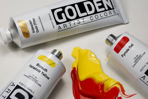 2oz Golden Heavy Body Acrylic