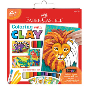 Faber-Castell Colouring With Clay Kit