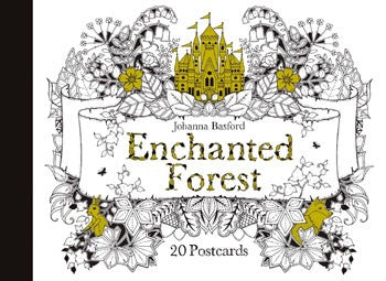 Chronicle Books Enchanted Forest Postcards 20