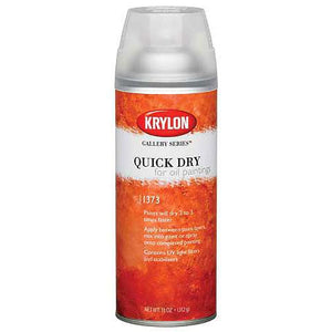 Krylon Quick Dry for Oil Painting