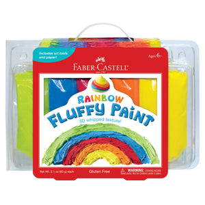 Faber-Castell Rainbow Fluffy Paint Kit