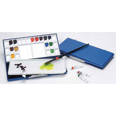 Mijello Fusion Airtight 24-Well Watercolour Palette