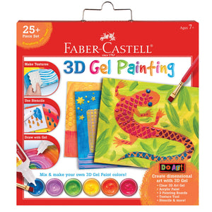 Faber-Castell 3D Gel Painting Kit