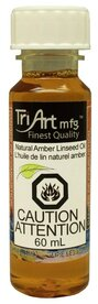 Tri-Art Natural Amber Linseed Oil