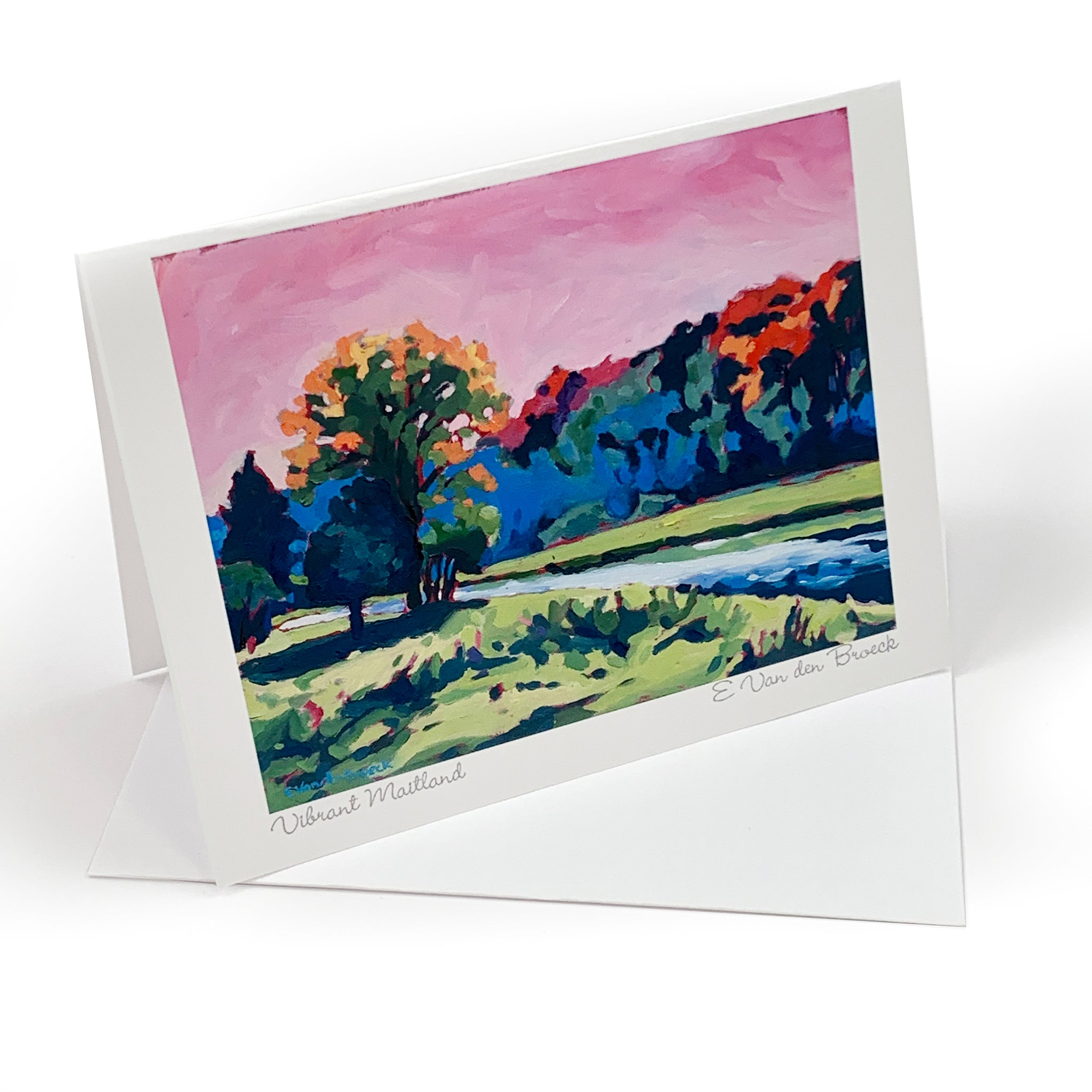Custom Printed Art Cards with Envelopes (Set of 8)