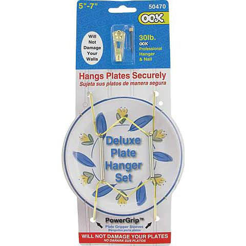 Deluxe Plate Hanger 5x7 inches