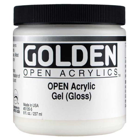 Golden 8oz Open Acrylic Gel Gloss
