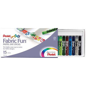 Pental Fabric Dye Sticks 15/set