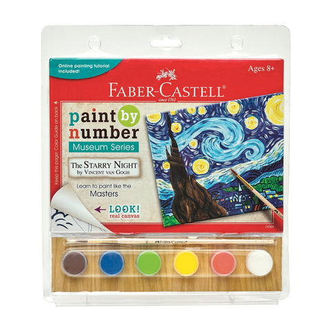 Faber-Castell Paint By Number Starry Night Kit