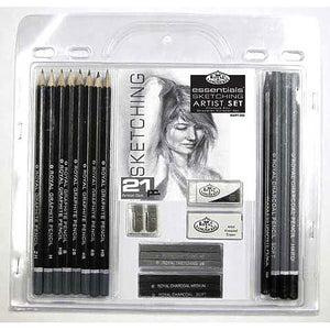 Royal Brush Essentials Sketching & Drawing Tin Set