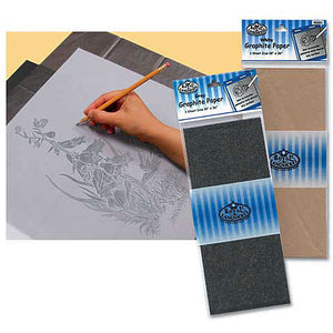 Royal & Langnickel Graphite Paper - Gray - 1 sheet