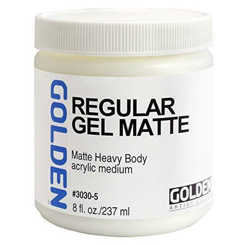 Golden 8oz Regular Gel Matte