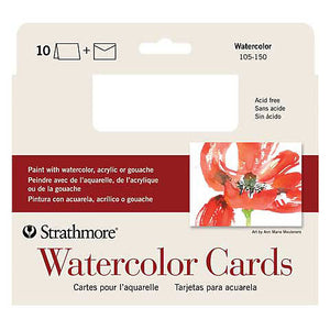 Strathmore Watercolour Card 5x7 10pk