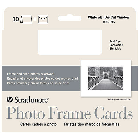 Strathmore Photo Frame Card 5x17 10pk