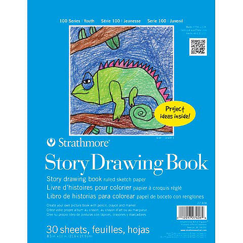 Strathmore Kid's Story Drawing Book - 8.5x11