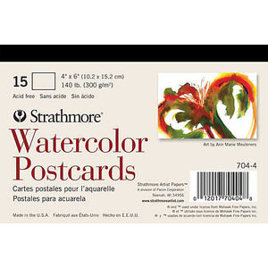 Strathmore Watercolour Postcards 15 sheets