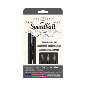 Speedball Calligraphy Fountain Pen Set 12pc