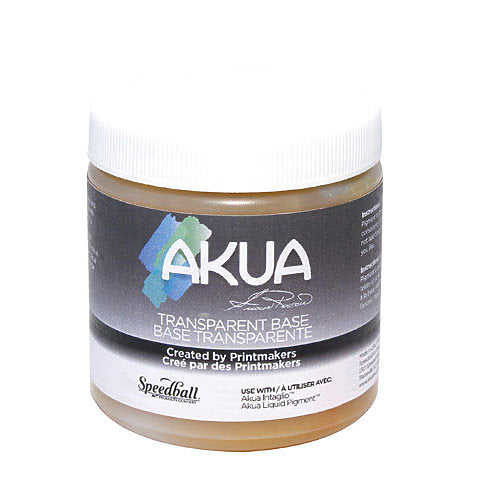 Speedball Akua Transparent Base 8oz