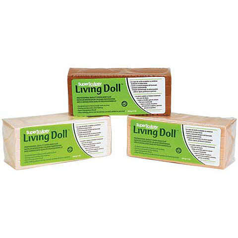 Sculpey Living Doll Clay Beige 1lb