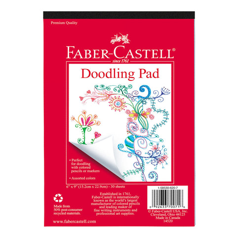 Faber-Castell Doodling Pad 6x9