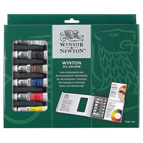 Winsor & Newton - Winton Tips and Techniques Oil Colour Set