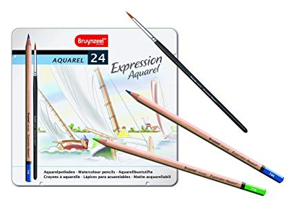 Bruynzeel Expression Watercolour Pencils Set/24