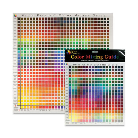 Magic Palette Inc. Colour Mixing Guide 24x24