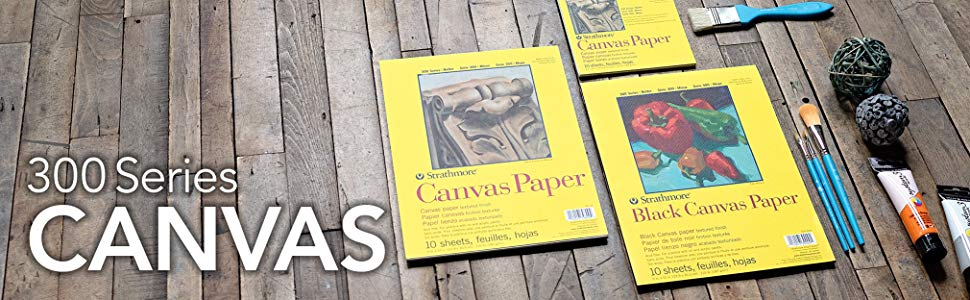 Strathmore Canvas Paper Pad300 Series 16x20