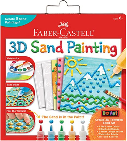 Faber-Castell 3D Sand Painting Set