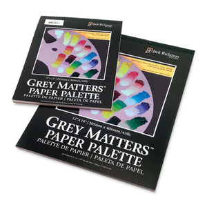 Grey Matters Paper Palette Grey 9x12 50 sheets