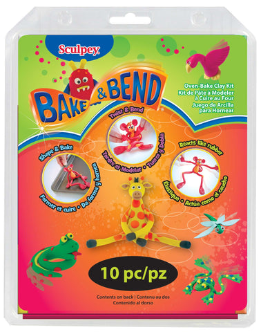 Sculpey Bake and Bend Oven-Bake Clay Set