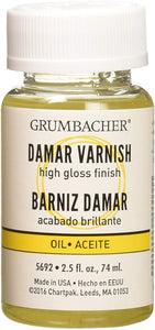 Grumbacher Damar Varnish 2.5oz