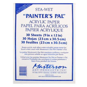 Masterson Sta-Wet Painter's Pal Palette Paper Refill 30 Sheets