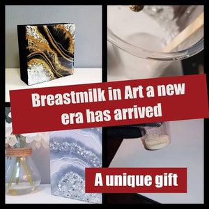Breastmilk in art
