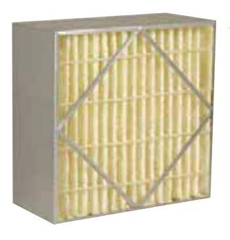 Bio-Pure® High Efficiency Rigid Cell Box Filters - AIRGUARD - Antimicrobrial Treated Filters