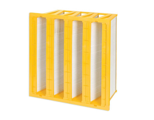 FP and FP-S Mini-Pleat V-Bank Filter - Dafco Filter Group - V-Bank and Panel Minipleat Filters