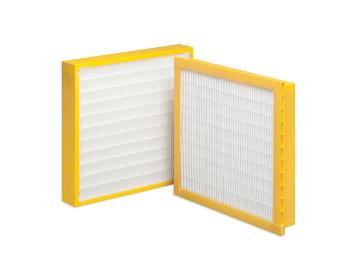 Geopleat - Dafco Filter Group - V-Bank and Panel Minipleat Filters