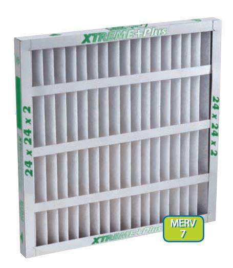 XTREME+Plus™ Pleated Panel Filters - AIRGUARD - Pleated Filters