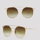 Atlanta - Gold - Far Left Sunglasses-FASHION-PropShop24.com