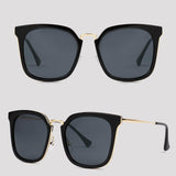 Nebraska - Black - Far Left Sunglasses-FASHION-PropShop24.com