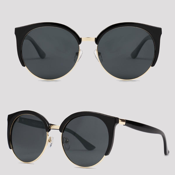 Oregon - Black - Far Left Sunglasses-FASHION-PropShop24.com