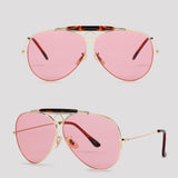 Porto - Pink - Far Left Sunglasses-FASHION-PropShop24.com
